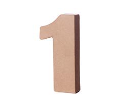 70141 Numero 1 papel mache con volumen Innspiro