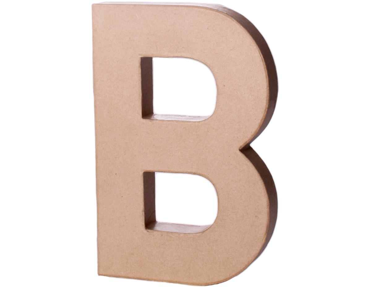 70201 Letra B papel mache con volumen Innspiro