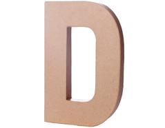 70204 Letra D papel mache con volumen Innspiro