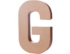 70207 Letra G papel mache con volumen Innspiro