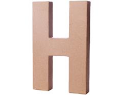 70208 Letra H papel mache con volumen Innspiro