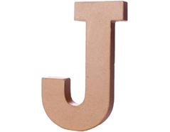 70210 Letra J papel mache con volumen Innspiro