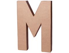 70213 Letra M papel mache con volumen Innspiro