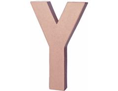 70226 Letra Y papel mache con volumen Innspiro