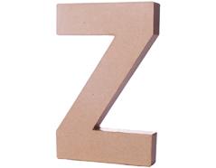70227 Letra Z papel mache con volumen Innspiro