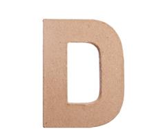 70804 Letra D papel mache plana Innspiro