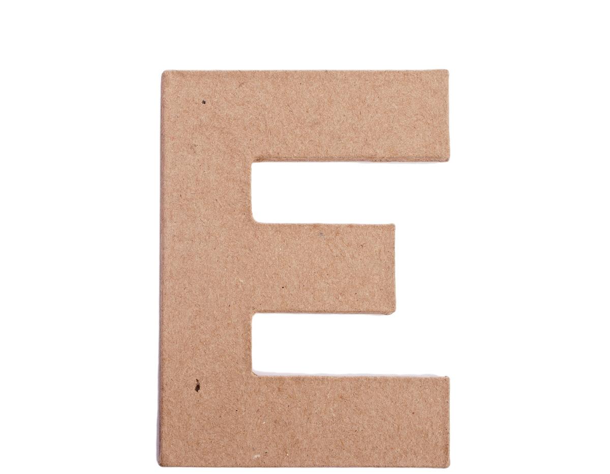 70805 Letra E papel mache plana Innspiro