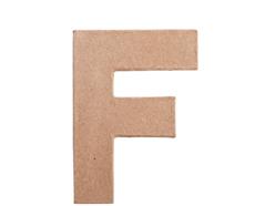 70806 Letra F papel mache plana Innspiro