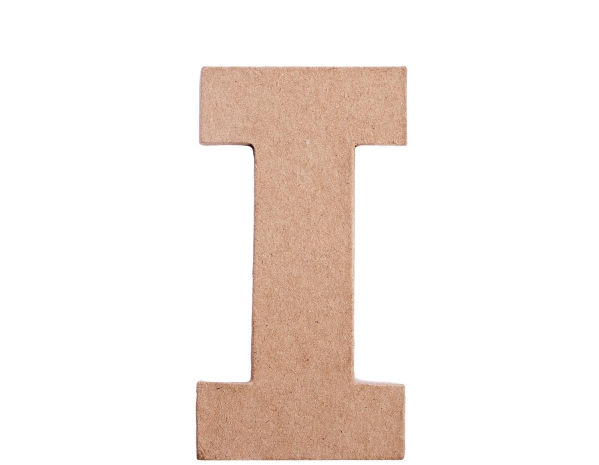 70809 Letra I papel mache plana Innspiro