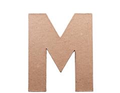 70813 Letra M papel mache plana Innspiro