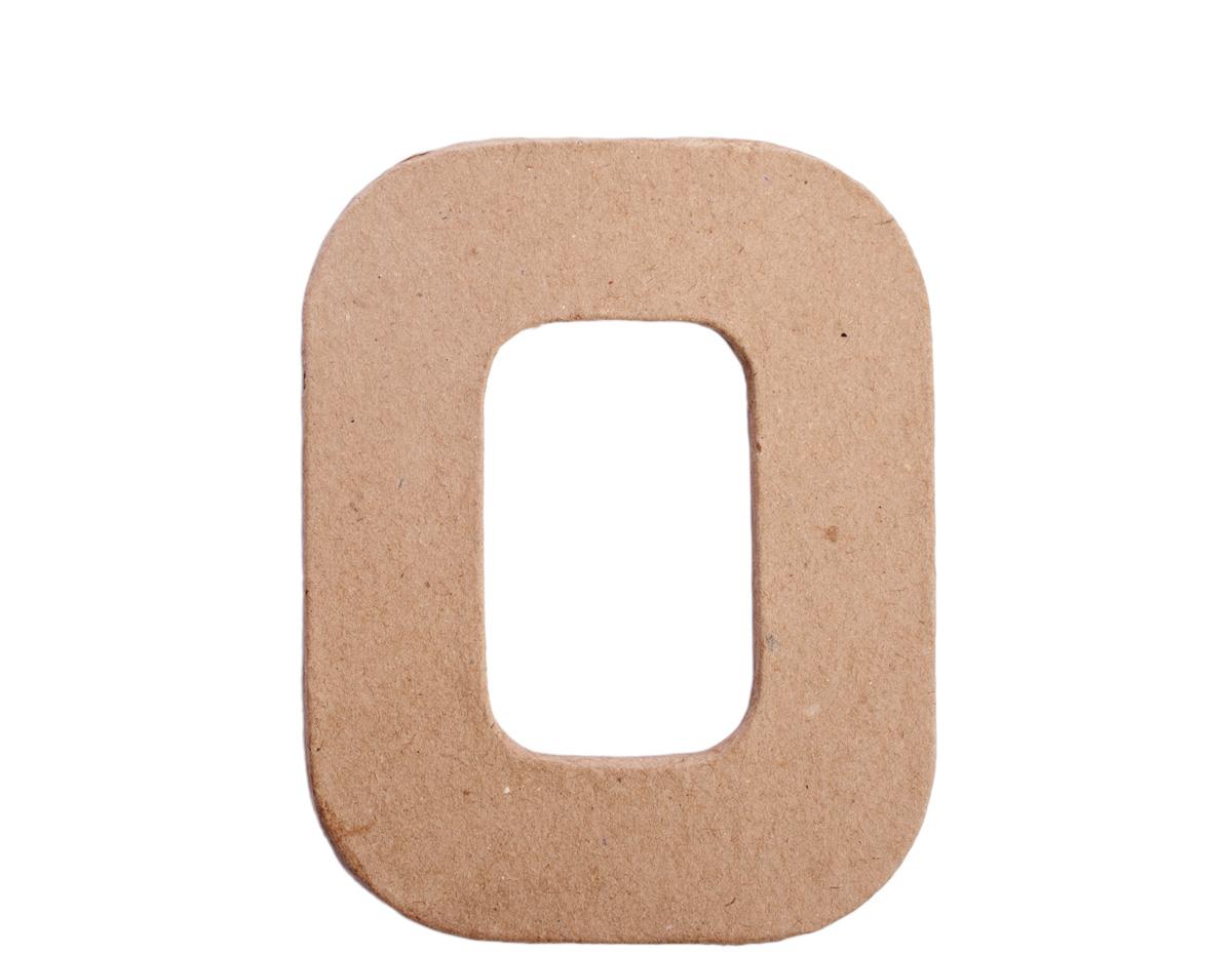 70816 Letra O papel mache plana Innspiro