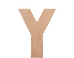 70826 Letra Y papel mache plana Innspiro