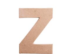 70827 Letra Z papel mache plana Innspiro