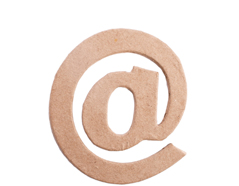 70829 Simbolo ARROBA papel mache plano Innspiro - Ítem