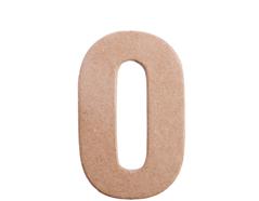 70840 Numero 0 papel mache plano Innspiro