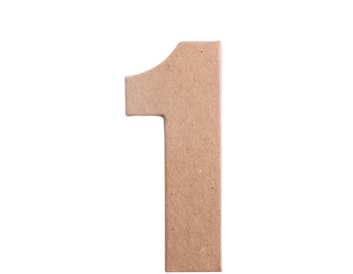 70841 Numero 1 papel mache plano Innspiro