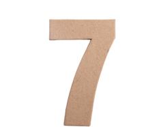 70847 Numero 7 papel mache plano Innspiro