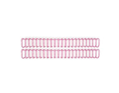71074-5 Espirales rosa THE CINCH Wire Binders Rosey We R Memory Keepers