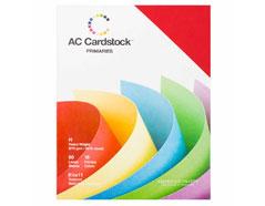 71261 Set 60 cartulinas colores primarios Primaries American Crafts