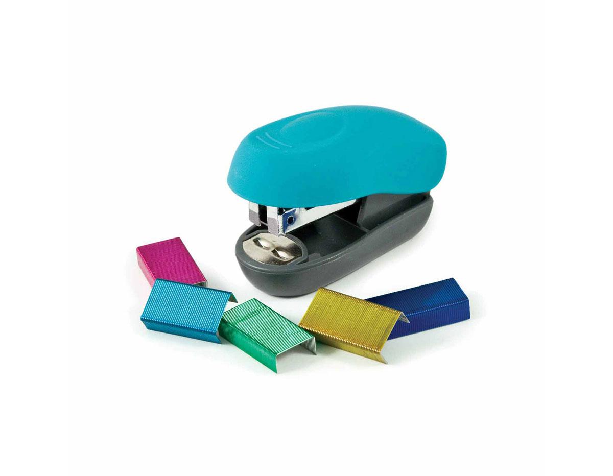 71280-0 Grapadora Crafters Stapler y grapas de colores We R Memory Keepers