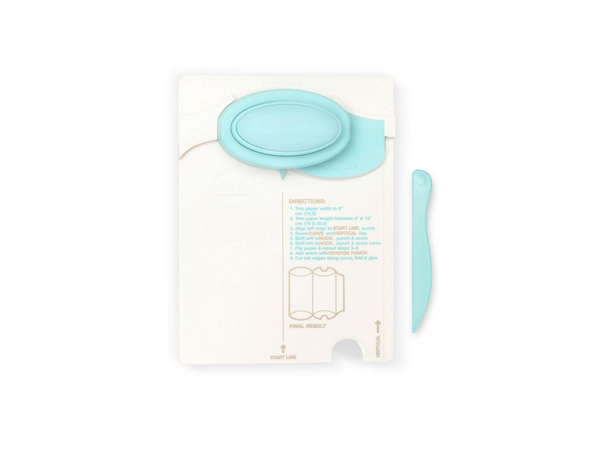 71335-7 Herramienta para crear cajas cojin Pillow Box Punch Board We R Memory Keepers