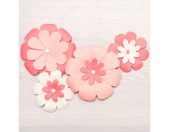71342-5 Herramienta para crear flores Flower Punch Board We R Memory Keepers - Ítem2
