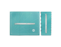 71350-0 Base de corte plegable y regla magneticos Fold Up Cutting Mat We R Memory Keepers