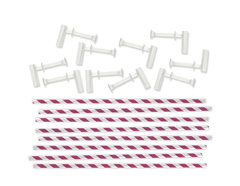 71355-5 Pajitas fucsia para molinillos Pinwheel Punch Board We R Memory Keepers