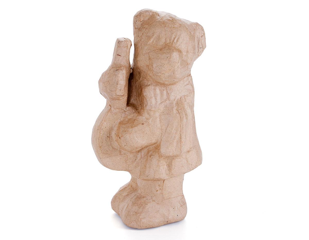 76107C Osito violonchelo papel mache Innspiro