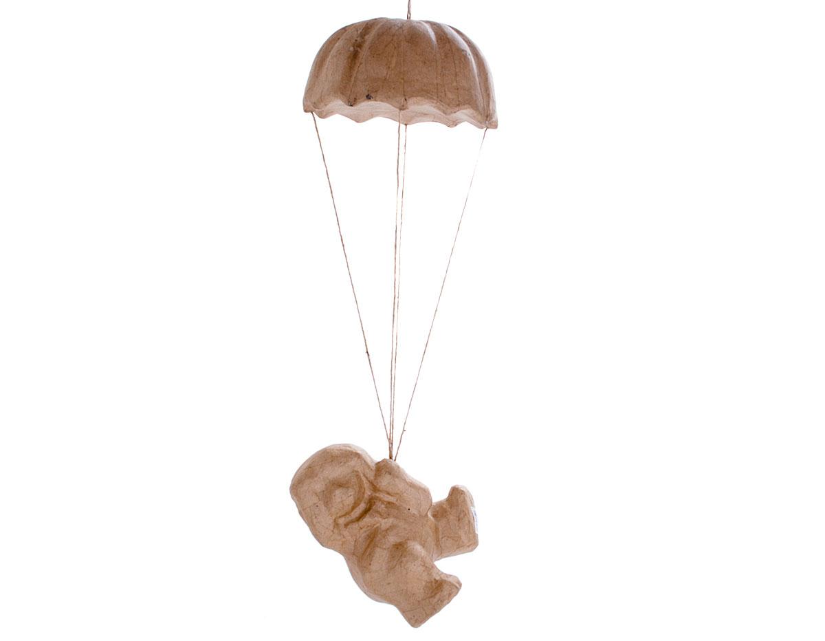 76271A Perro paracaidas papel mache Innspiro