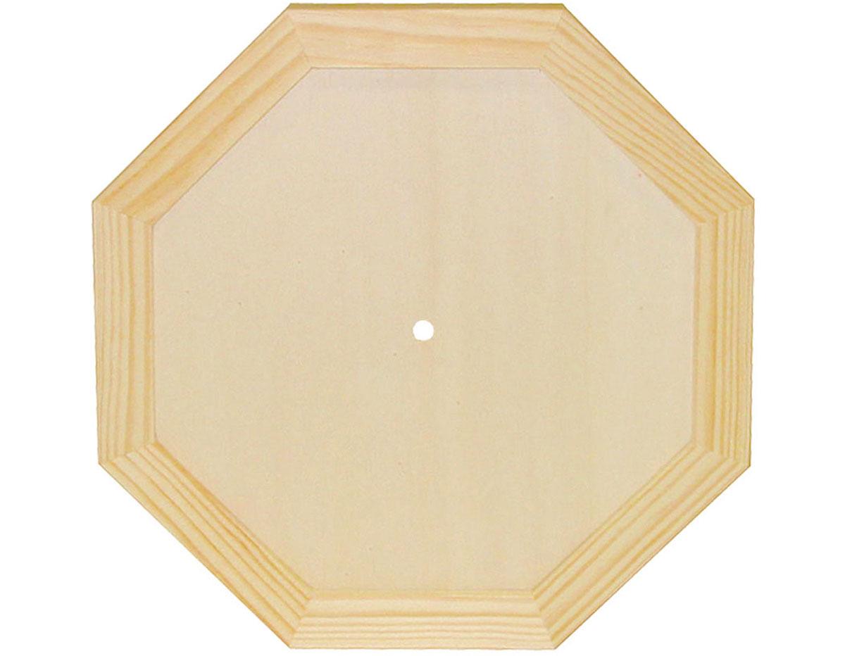7716 Reloj madera de pino macizo octogonal Innspiro