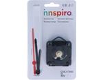 800-20 Kit mecanismo reloj con manecillas plastico Eje 20mm Innspiro - Ítem1