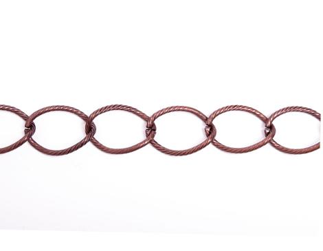 806009 Cadena metalica cobriza envejecida Innspiro
