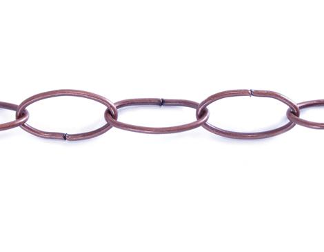 806014 Cadena metalica cobriza envejecida Innspiro