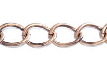 808001 Cadena metalica dorada envejecida Innspiro