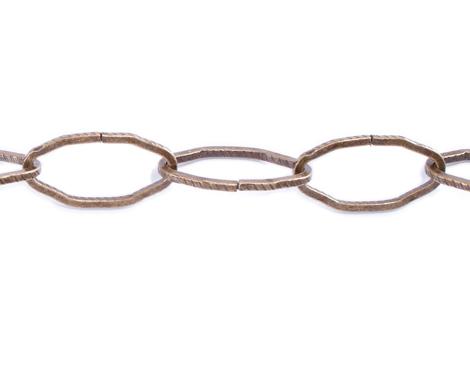 808010 Cadena metalica dorada envejecida Innspiro