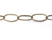 808014 Cadena metalica dorada envejecida Innspiro