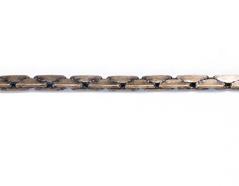 80803 Cadena metalica serpiente dorada envejecida Innspiro