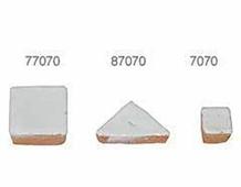 87070 Z87070 TESELA TRIANGULAR 19mm Blanco Innspiro