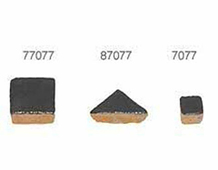 Z87077 87077 TESELA TRIANGULAR 19mm Negro Brillante Innspiro