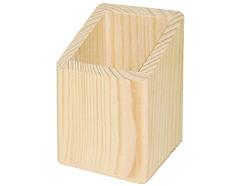 9100 Portalapices madera de pino macizo sin base Innspiro