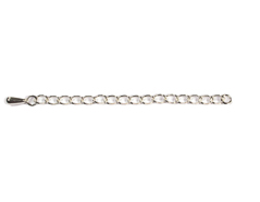 925157 A925157 Extension cadena plata de ley 925 con lagrima Innspiro