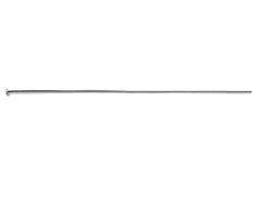 A925165 925165 Baston plata de ley 925 cabeza alfiler con tope Innspiro