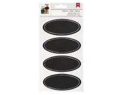 95356 Etiquetas Chalkboard Stickers Ovals American Crafts