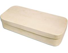 97060 97062 Caja madera de chapa de chopo rectangular Innspiro