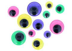 97130 Ojos moviles de colores autoadhesivos medidas surtidas Innspiro