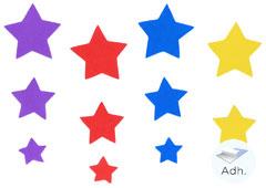 98012 Estrellas de goma eva adhesiva Innspiro
