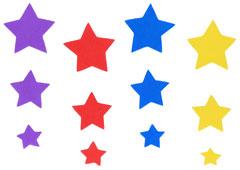 98312 Estrellas de goma eva Innspiro