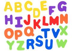 98344 Letras mayusculas de goma eva Innspiro