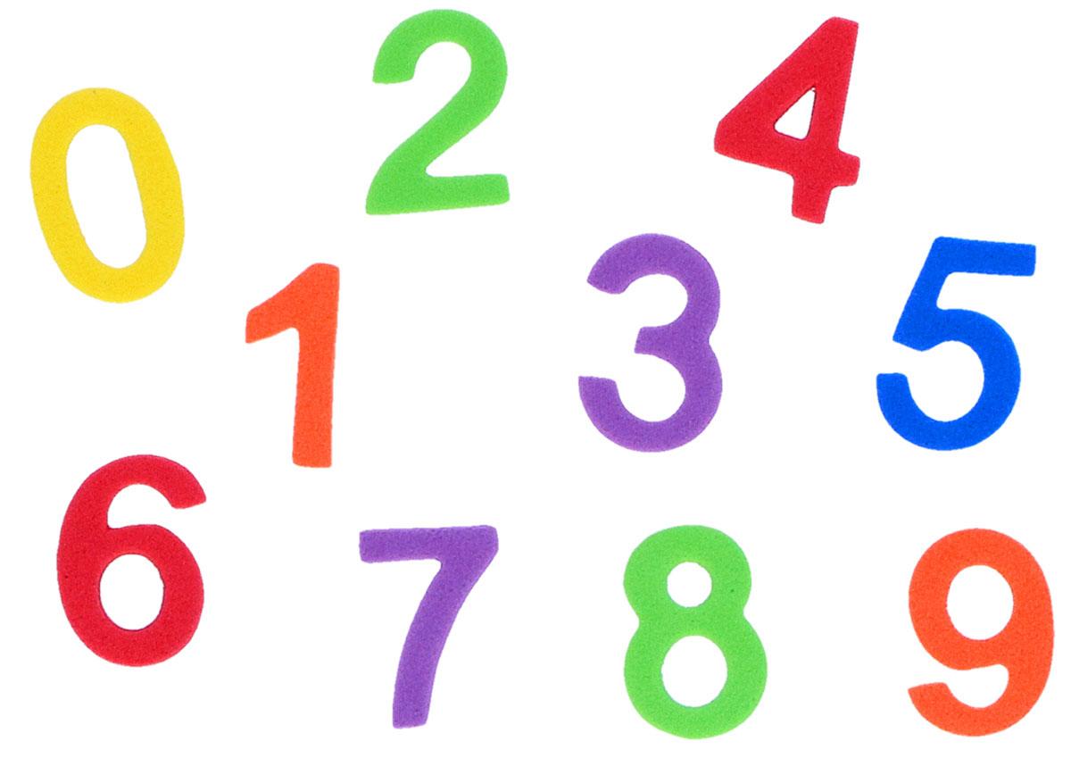 Numeros 0-9 De Goma Eva Manualidades 98346